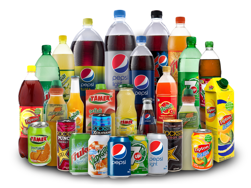 Plastic Bottles soft drinks