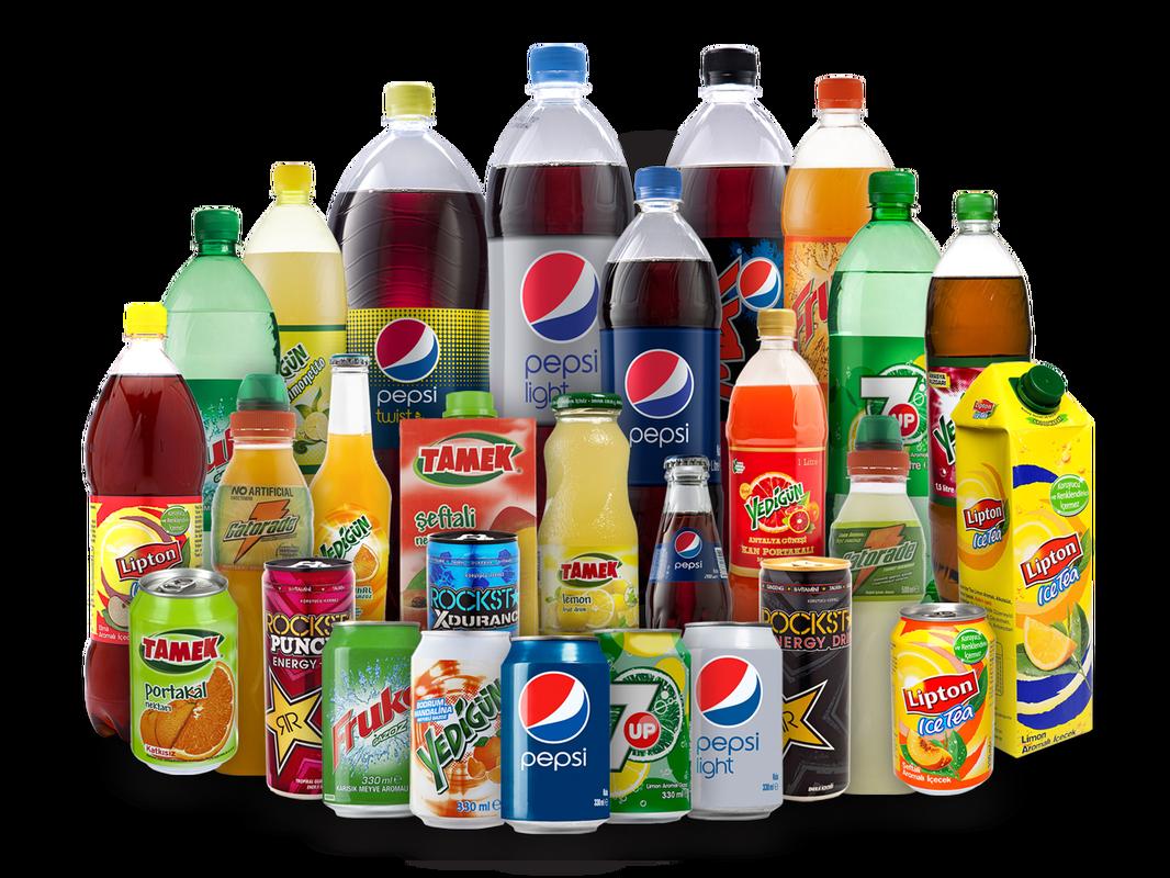 Plastic Bottles soft drinks - Beverage