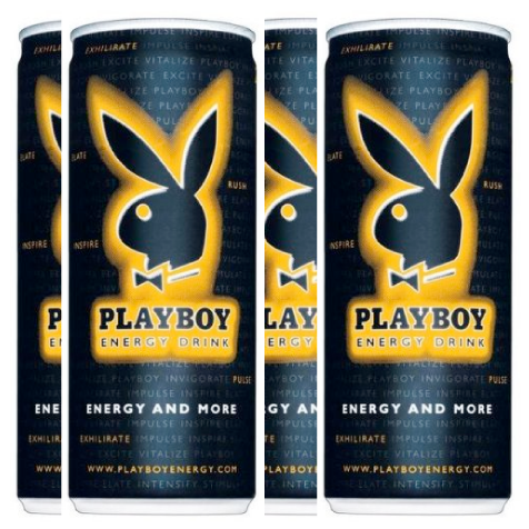 beverage distributor, play boy energy drink
