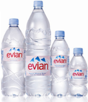 evian water wholesale